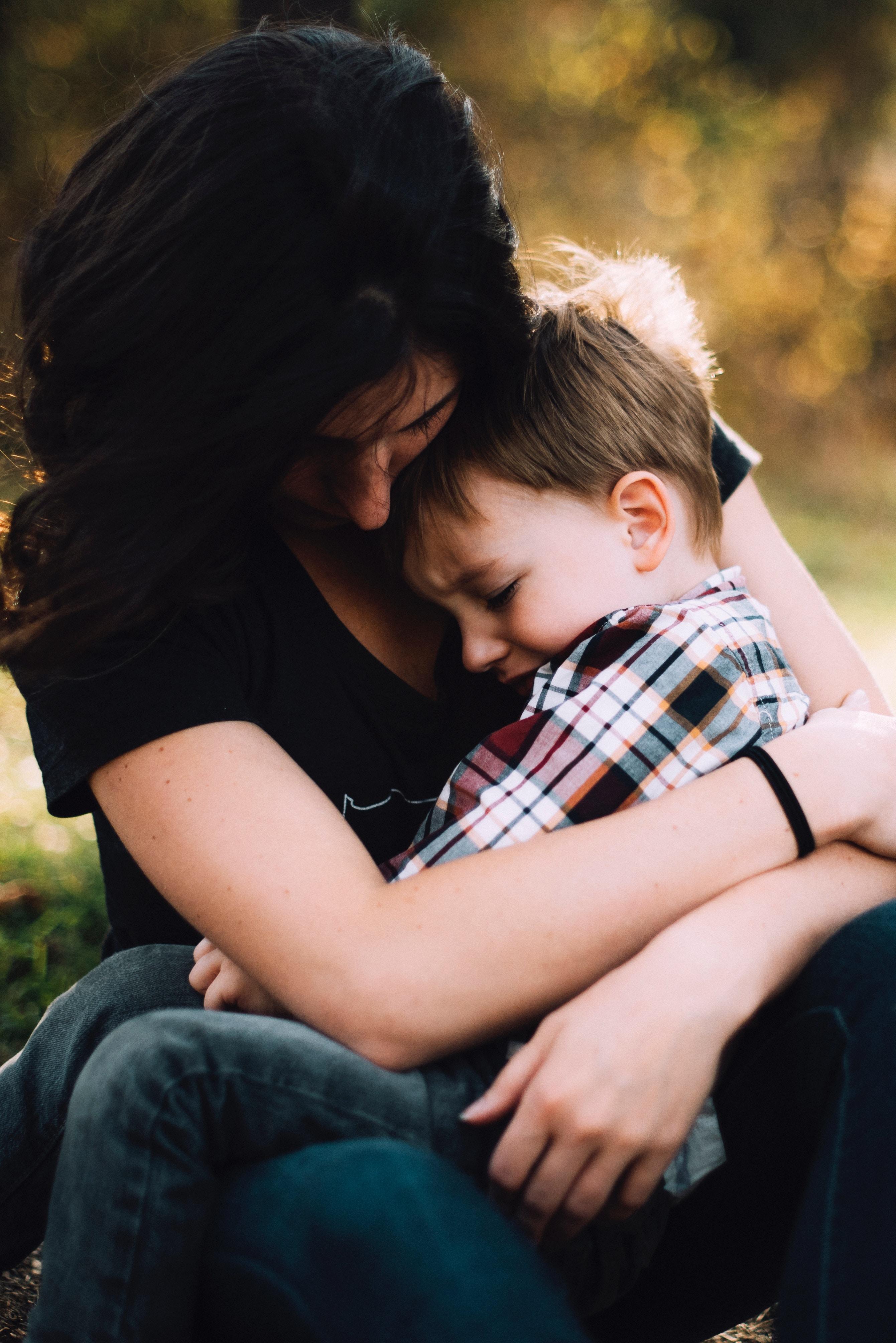 child is depressed divorce